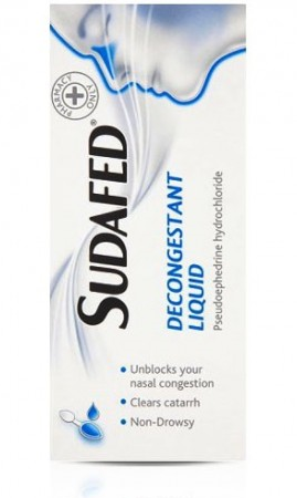Great Value (P) Sudafed Decongestant Liquid 100ml | P-Z |  |