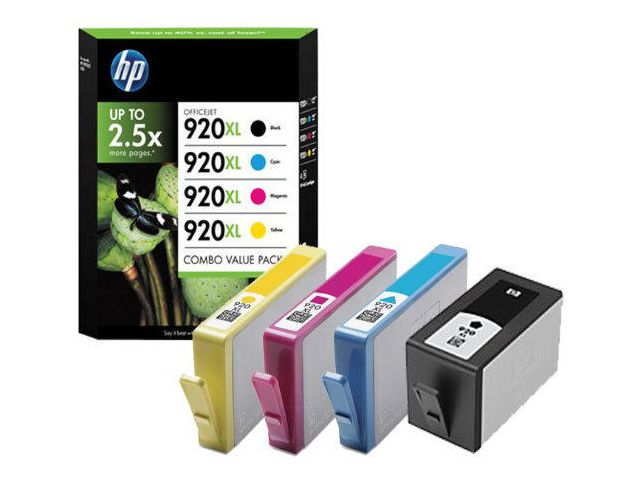 Great Value HP No.920XL Inkjet Cartridge Multipack of 4 | Hewlett Packard |  |