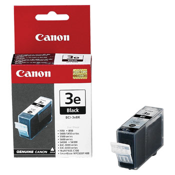 Cheap Canon BCI-3E Ink Cartridge Black | Canon | BCI-3EBK | Canon