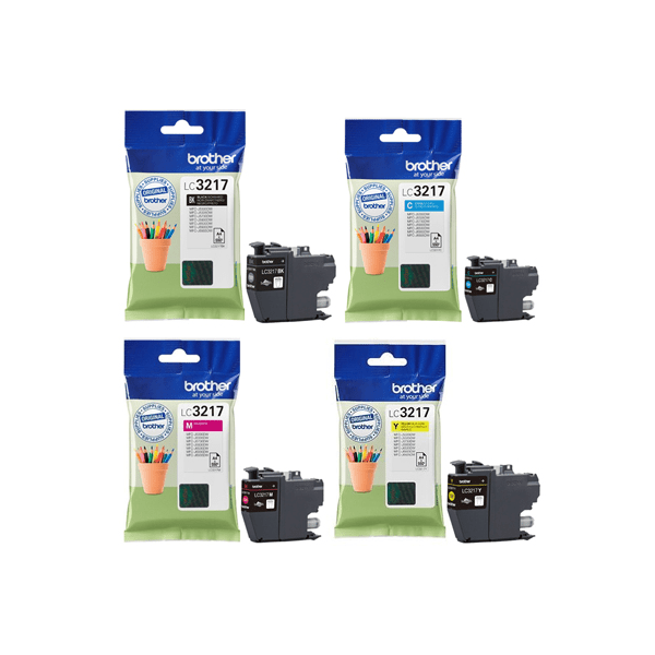 Great Value Brother LC3217 Inkjet Cartridge Black | Brother | LC3217BK | Brother