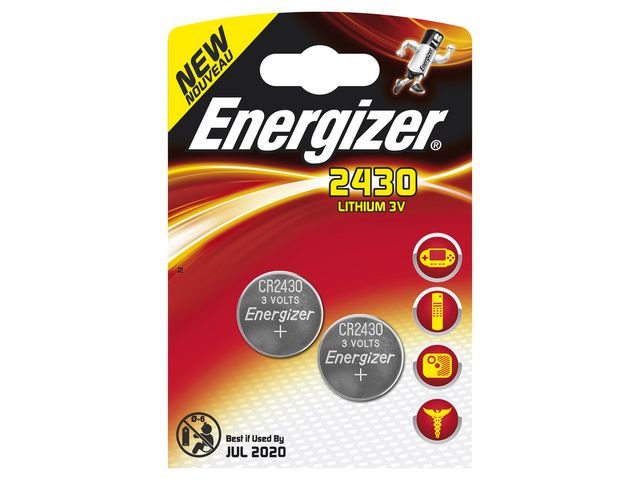 Great Value Energizer Lithium Batteries CR2430 Coin Battery | Standard Batteries | 297839240 | Energizer