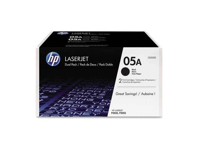 Great Value Hewlett Packard No.05A Toner Cartridges | Hewlett Packard |  |
