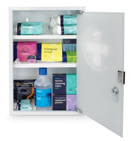 Great Value First Aid Kit with Cabinet | First Aid Kits & Supplies |  | Reliance