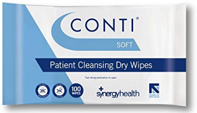 Cheap Conti Soft Dry Wipe - Large 30 X 32cm | Patient Wipes & Sprays | CSW110 | Synergy Health