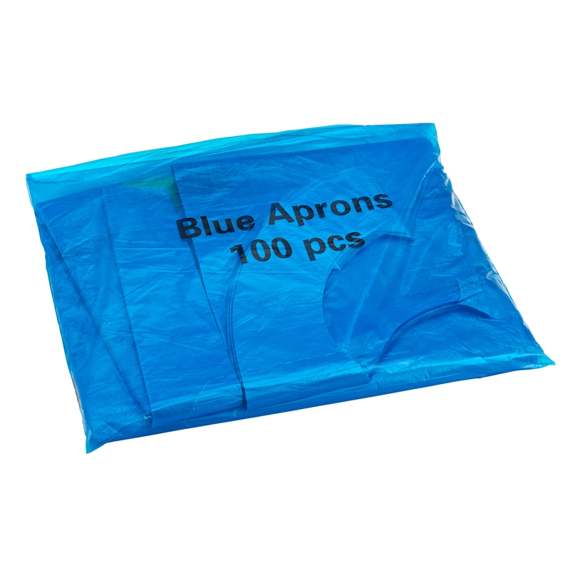 Essential Aprons in a Dispenser Pack Blue | Medical Supermarket