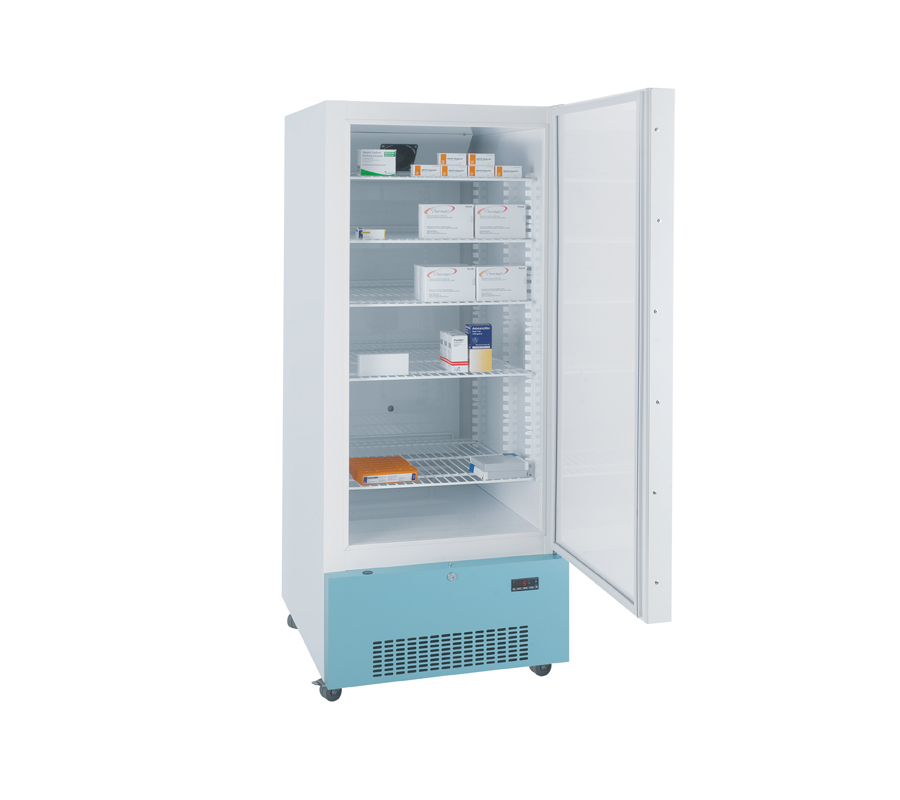 Lec PE1607C Pharmacy Refrigerator with Solid Door (444 Litres) | Medical Supermarket