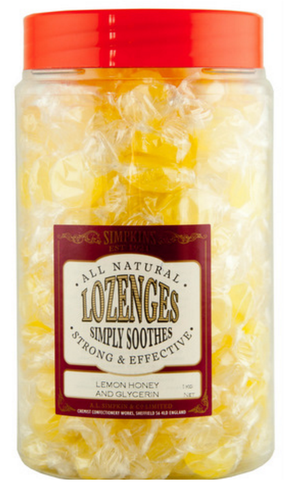 Great Value Simpkins Lozenges Lemon, Honey & Glycerine Lozenges 1kg | I-O |  |