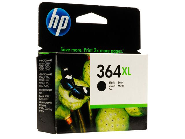 Great Value HP No.364XL High Capacity Ink Cartridge Black | Hewlett Packard | 2115995 | Hewlett Packard