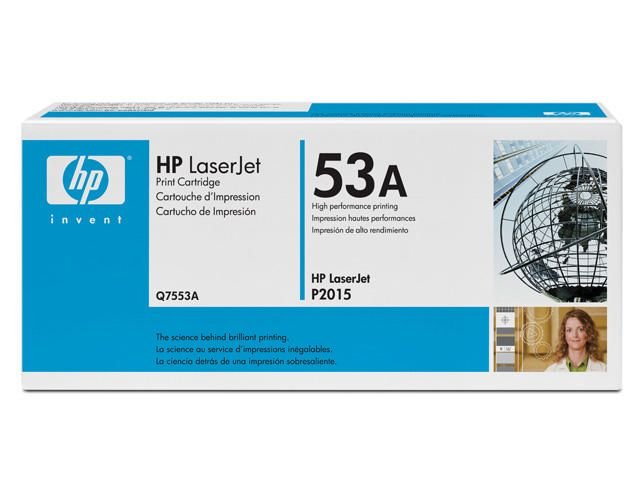 Great Value HP No.53A Black Toner | Hewlett Packard | Q7553A | Hewlett Packard