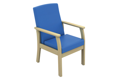 Cheap Atlas Patient Low Back Side Chair With Arms Vinyl Fabric | Visitors & Waiting Room Chairs | Sun-CHA49/VYL | Sunflower Medical