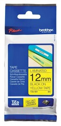 Cheap Brother TZE-631 Tape 12mm Black on Yellow | Labelling Machines | TZ-631 | Brother