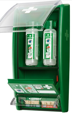 Great Value Cederroth Eye Wash Station, 2x500ml Bottles | First Aid Kits & Supplies |  |