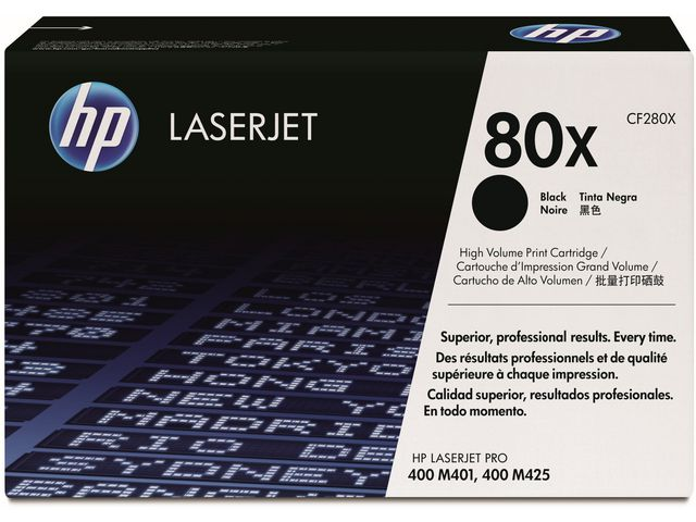 Great Value HP No.80X High Capacity Black Toner | Hewlett Packard | CF280X | Hewlett Packard