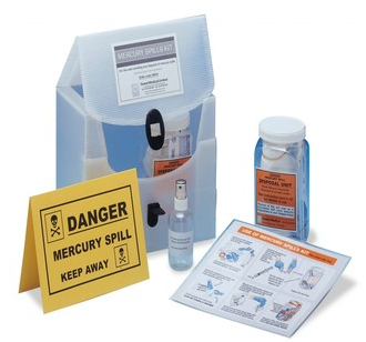 Mercury Spillage & Decontamination Kit | Medical Supermarket