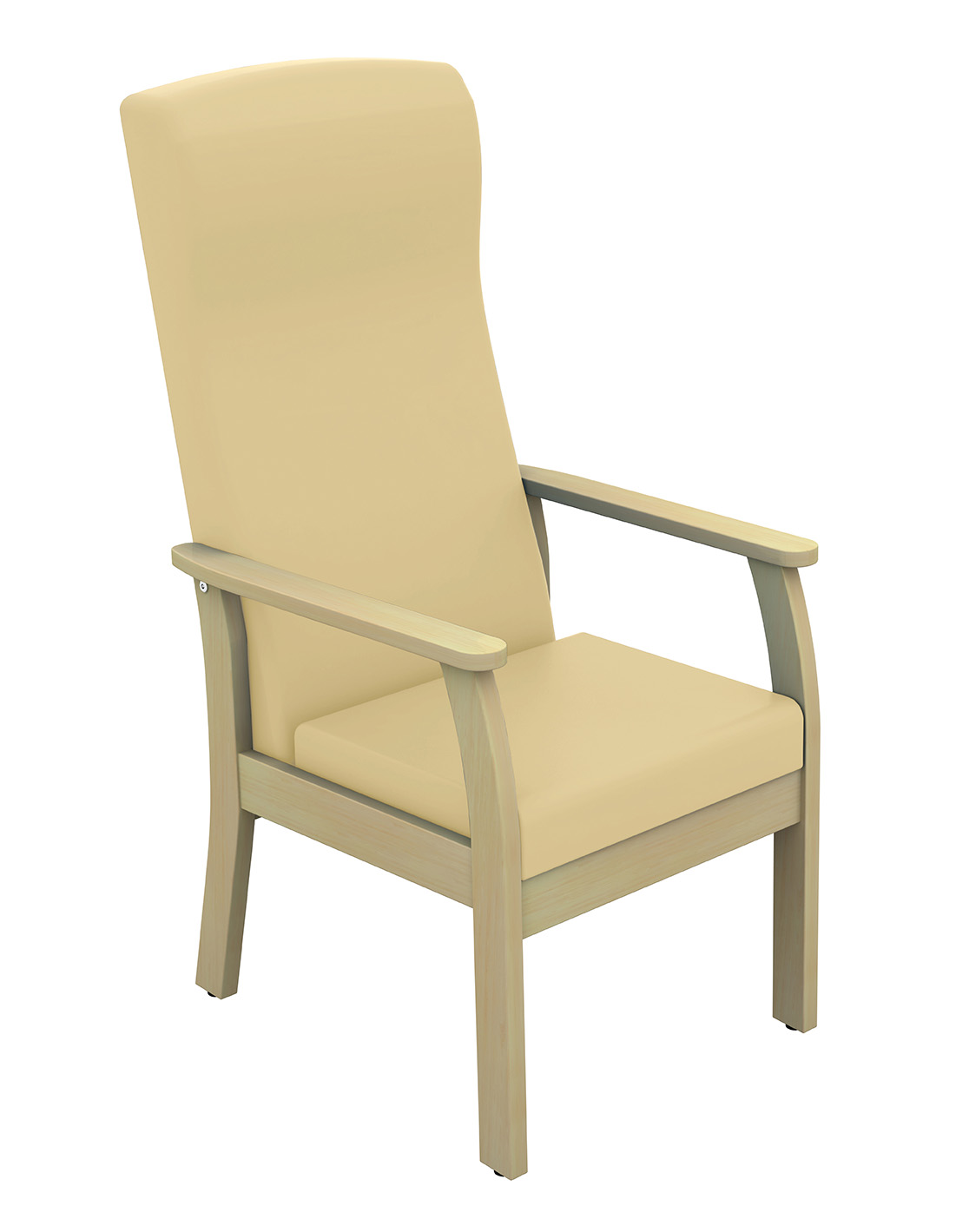 Cheap High Back Patient Arm Chair Vinyl Fabric | Visitors & Waiting Room Chairs | Sun-CHA51/VYL/COLOUR | Sunflower Medical
