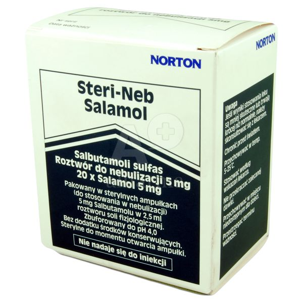 Great Value (POM) Salamol Steri-Neb Salbutamol Neb Solution 5mg/2.5ml | P-Z | PHA/SAL/002 |