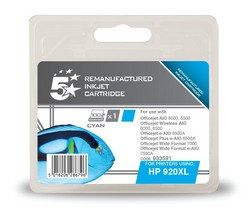 Cheap HP 902XL Compatible Ink Cartridge Cyan (CD972AE) High Capacity | Compatible |  |