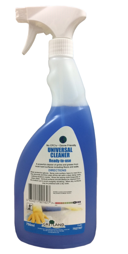 Great Value Universal Cleaner Ready to Use 750ml | Multi Surface Cleaners |  |