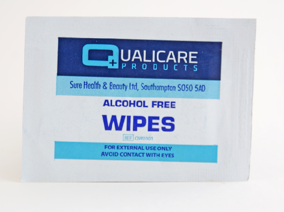 Alcohol Free Skin Cleansing Wipes | Medical Supermarket