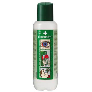 Great Value Cederroth Buffered Eye Wash 500ml Bottle | First Aid Kits & Supplies | CL/171 | Cederroth