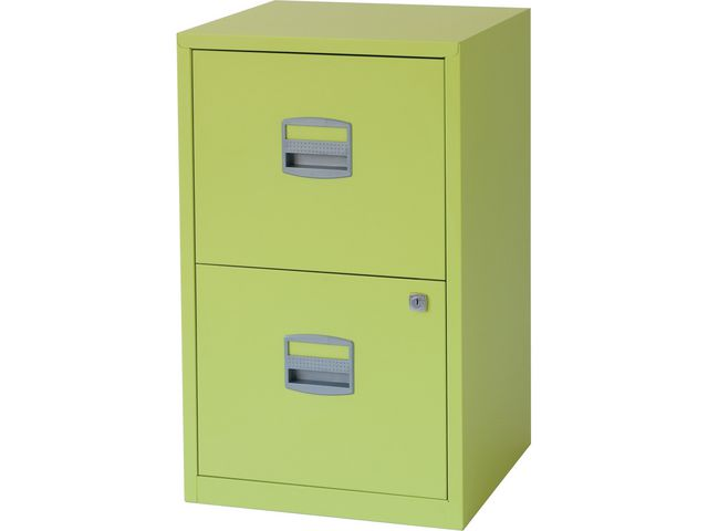 Great Value 2 Drawer A4 Filing Cabinet Citrus Filing Cabinets