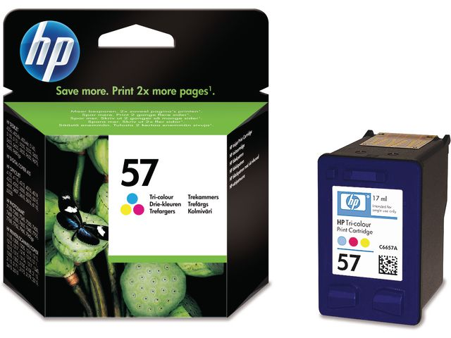 Great Value HP 57 Original Ink Cartridge Tri-Colour (C6657A) | Hewlett Packard |  |