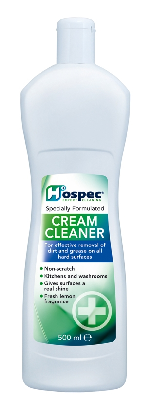 Cheap Cream Cleaner 500ml | Hard Surface Cleaners | HOSCLC50000101 | Hospec