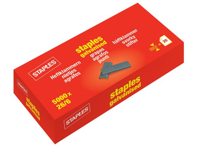 Great Value Staples 26/6 | Staples |  |