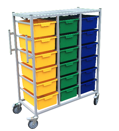 Great Value 3 Tier Kari Carts 18 Trays Each | Linen and Laundry Management |  |