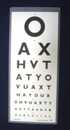 Cheap Snellen 6M Vision Test for New DVLA Standards (Laminated) | Vision Tests | SDT-341-DVLA | Sussex Vision