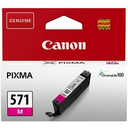 Cheap Canon CLI-571 InkJet Cartridge Page Life 300pp Magenta Ref 0387C001 | Canon |  |