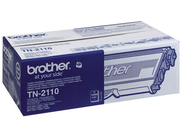 Great Value Brother TN2110 Black Toner | Brother | TN2110 | Brother