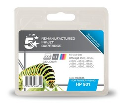 Cheap HP 901XL Compatible Ink Cartridge Tri-Colour (CC656AE) High Capacity | Compatible |  |