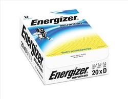 Cheap Energizer Eco Advanced Batteries D | Standard Batteries |  |