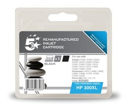 Cheap HP 300XL Compatible Ink Cartridge Black (CC641EE) High Capacity | Compatible |  |