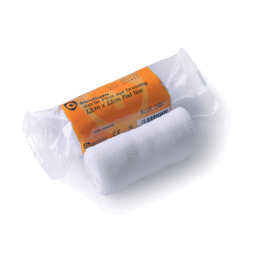 Great Value HSE Flow Wrapped Dressing 12cm x 12cm | Dressings |  |