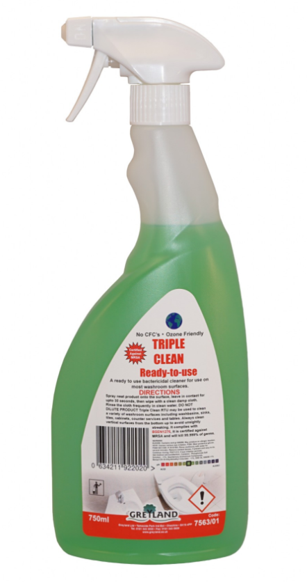 Great Value Triple Clean Washroom Cleaner 750ml- Pack of 1 | Washroom Cleaners |  |