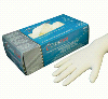 CyberTech Super Grip Latex Powdered Gloves Small | CON10102 | Henry Schein | Non Sterile - Latex Exam Gloves