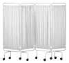 Sidhil Replacement Screen Curtains Only Plastic, White | Medical Supermarket