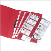 Punched Pkt A4 Bus Card Glass Clear | 547678 | Office Depot | Rolodex & Card Systems