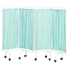 Sidhil Replacement Screen Curtains Only Plastic, Green | Medical Supermarket