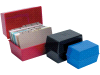 Cheap Card Index Box (8 x 5in) Blue | Guide Cards | CP012CEBLU | Staples