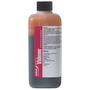 Great Value [AMB] (P) Videne Antiseptic Aqueous Solution - 500ml | P-Z | D469920 | Merlin Medical
