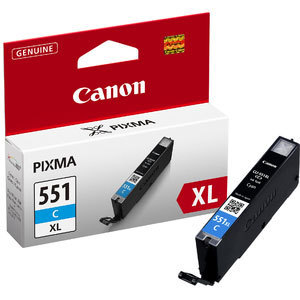 Cheap Canon CLI-551 High Capacity Ink Cartridge Cyan | Canon | CLI-551CXL | Canon