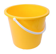 Great Value 10 Litre Plastic Bucket Yellow | Buckets |  |