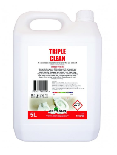 Great Value Triple Clean Washroom Cleaner 5 Litre- Pack of 1 | Washroom Cleaners |  |