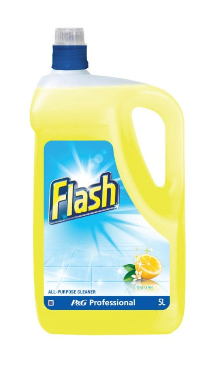 Great Value Flash All Purpose Cleaner 5 Litre Lemon | Multi Surface Cleaners |  | Procter & Gamble