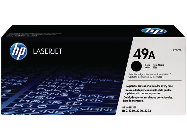 Great Value HP No.49A Black Toner | Hewlett Packard | Q5949A | Hewlett Packard