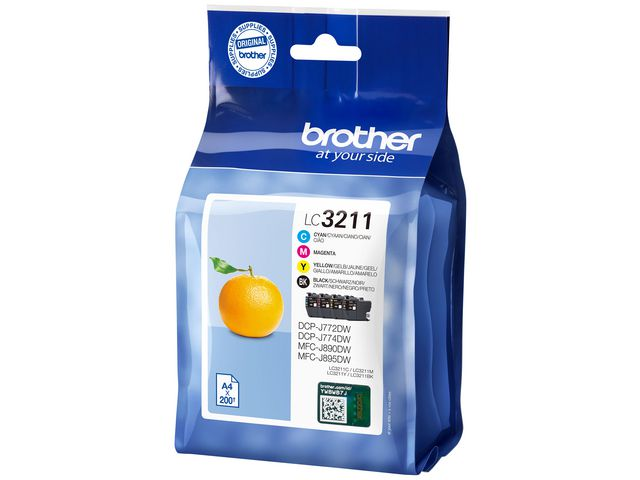 Great Value Brother LC3211 Multipack Ink | Brother |  | Brother