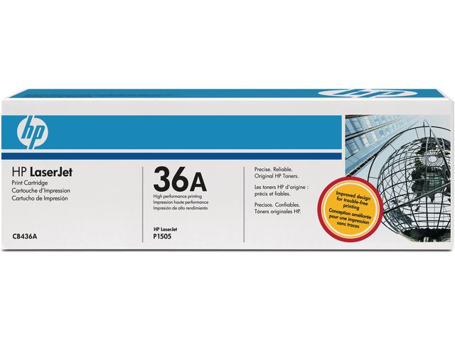 Great Value HP No.36A Black Ink Cartridge | Hewlett Packard | CB436A | Hewlett Packard
